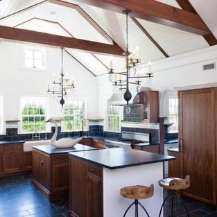 main walnut kitchen