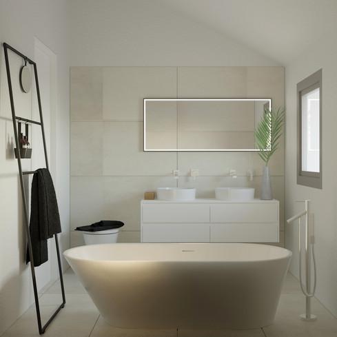 MS86A_Maciej Sokolnicki Architects_Kids bathroom_Crans pres Celigny_01