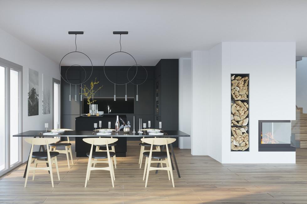 MS86A_Maciej Sokolnicki Architects_Kitchen_Crans pres Celigny
