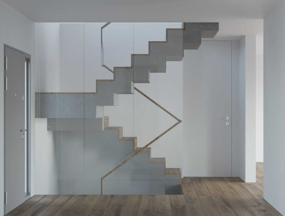 MS86A_Maciej Sokolnicki Architects_Hall_Entry Area_Crans pres Celigny_02