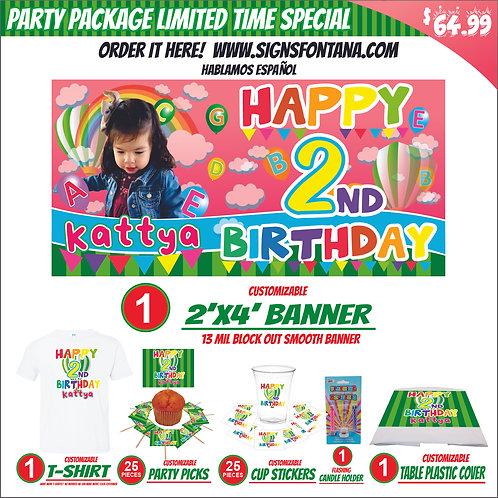 Cocomelon Happy birthday banner personalized Design