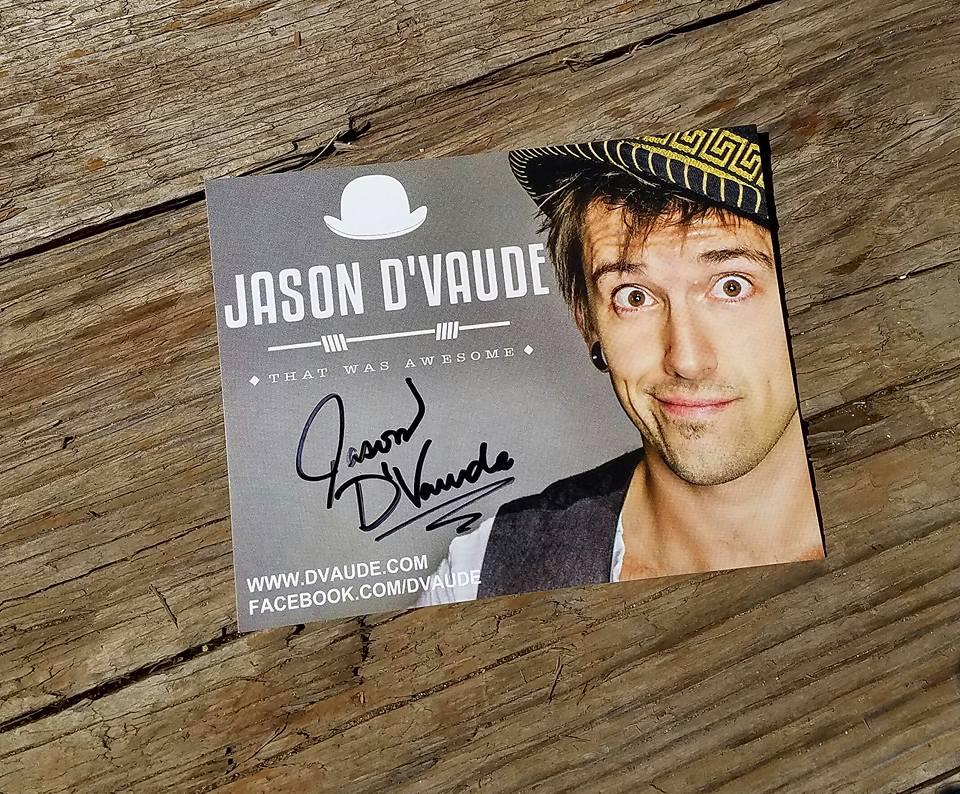 Jason D'Vaude Hand outs