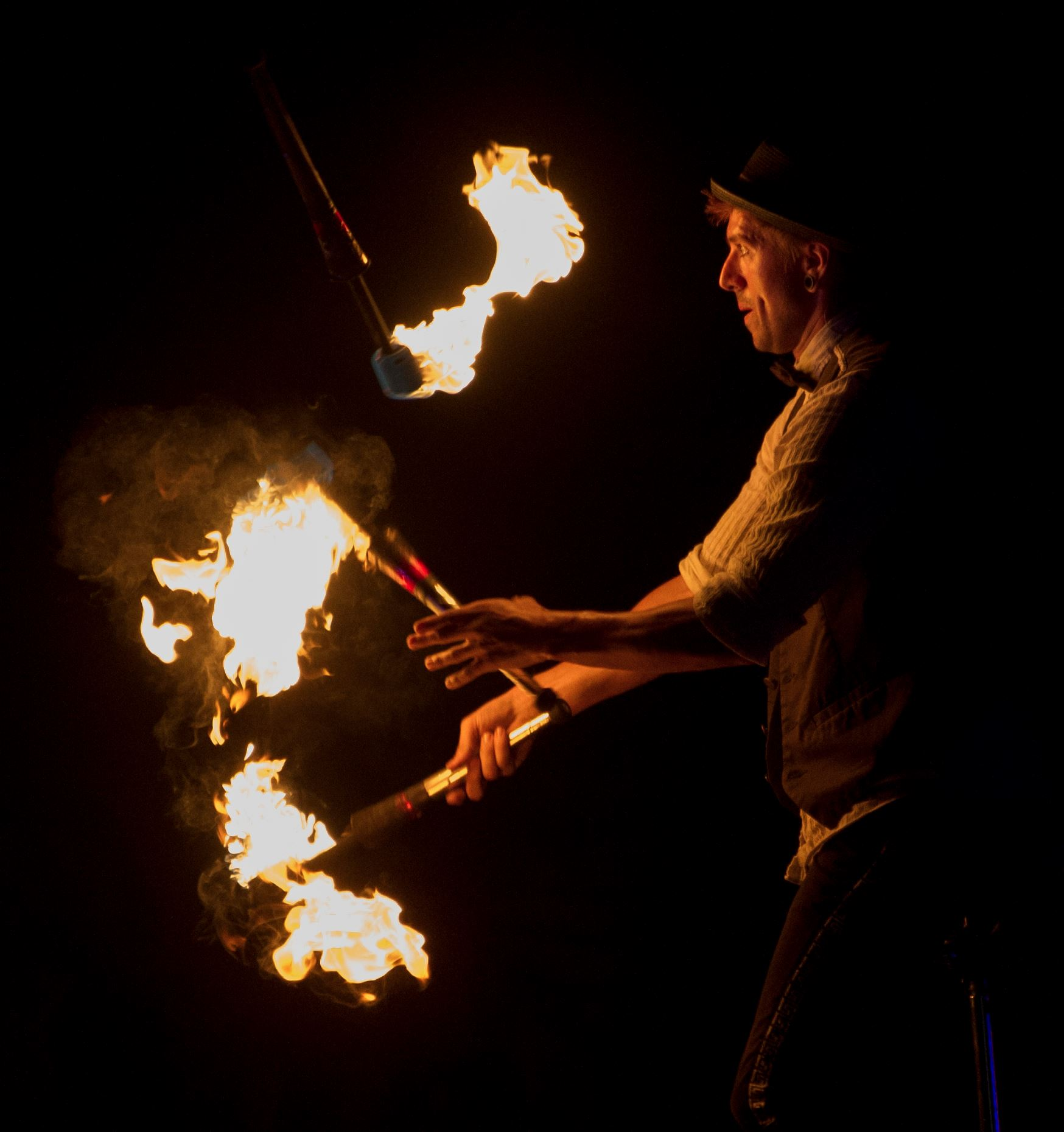 Jason D'Vaude - Fire Juggler