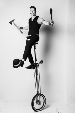 Unicycle by Showman Jason D'Vaude