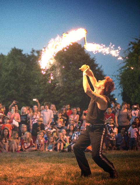 KC Riverfest Amazing Fire by Jason D'Vaude