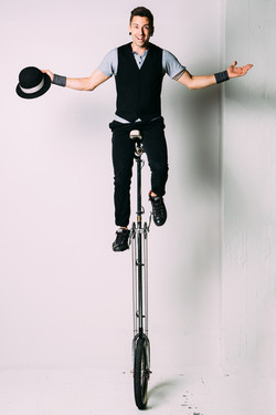 Jason D'Vaude Unicycle Performance