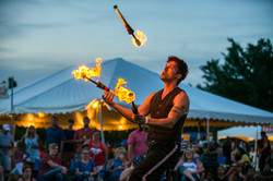 Jason D'Vaude-Fire Juggling-KC