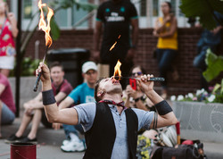 Jason D'Vaude National Fire Eater