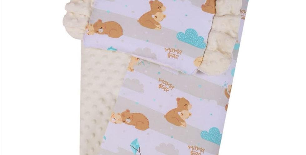 2pc Minky Blanket