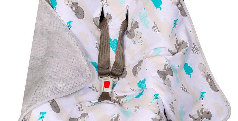 Car Seat Polyester Blanket