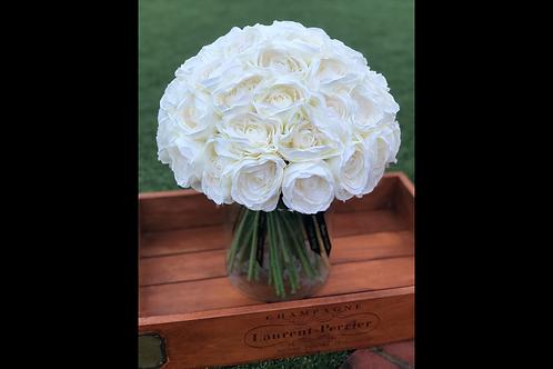 Rose Bundle White