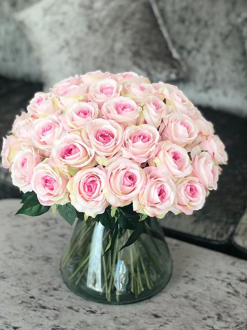 PRETTY Rose Jar Pink