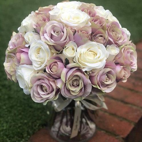 Rose Jar ( Pink and Cream)