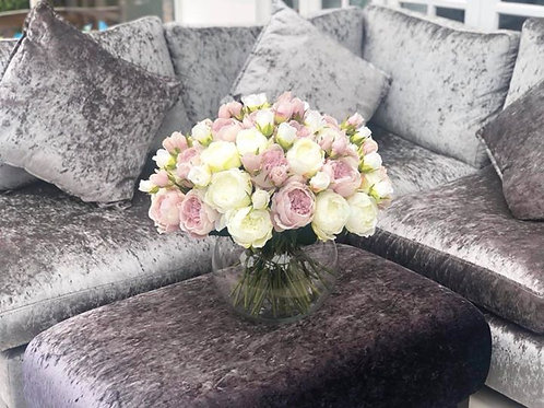 Over sized peony bowl