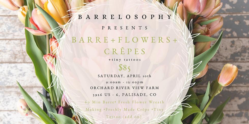 barre • flowers • crêpes