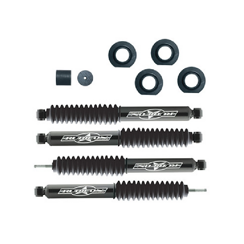 "Rubicon Express 2"" Econo Lift Kit with Shocks for 97-06 Jeep Wrangler TJ"