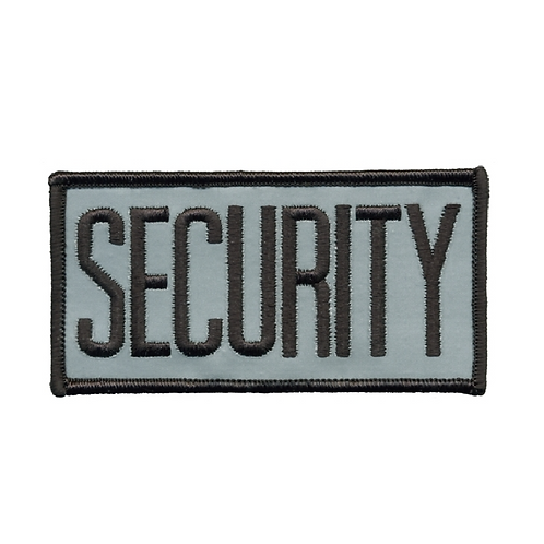 Reflective SECURITY Chest Patch