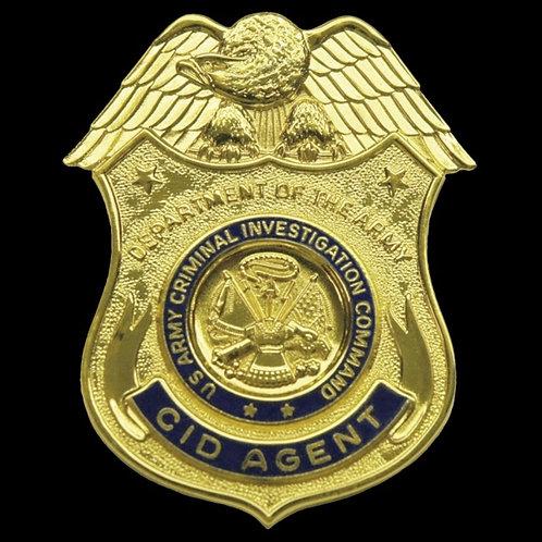 CID Back Up Badge