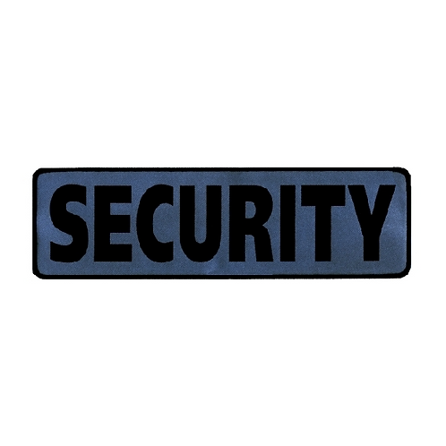 Security Reflective Printed Patch