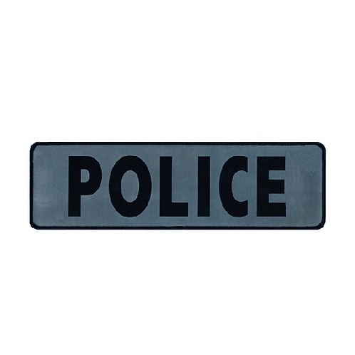 Police Reflective Printed Patch