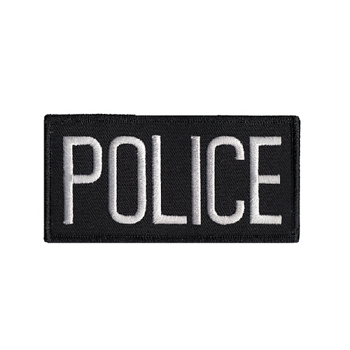 Police Chest Patches