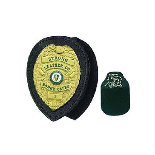 Recessed Badge Holders for Neck or Belt