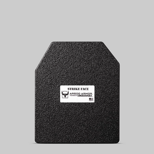 "AR500 Armor® Level III Patented Advanced Shooters Cut (ASC) 10"" x 12"""