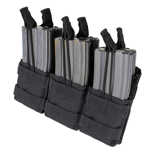 STACKER M4 Open top Triple Mag Pouch