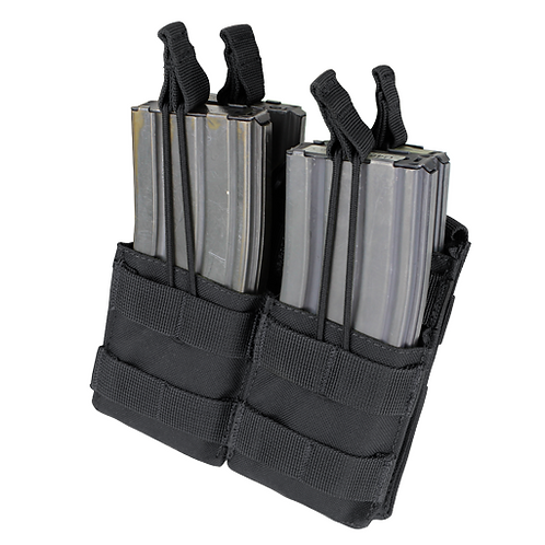 STACKER M4 Open top Double Mag Pouch