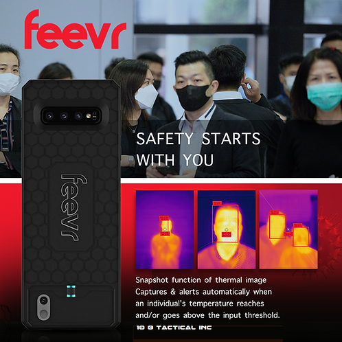 FEEVR AI Non Contact Based Temperature Reader