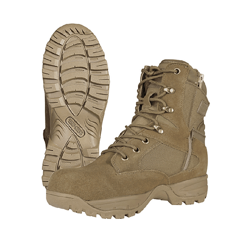 "TAC ASSAULT 9"" SIDE ZIP BOOTS"