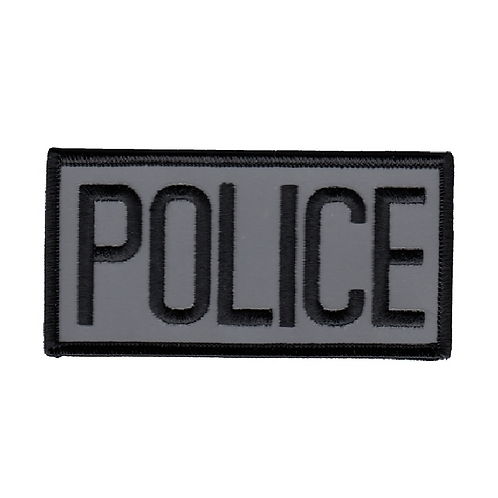 Reflective Police Chest Patch
