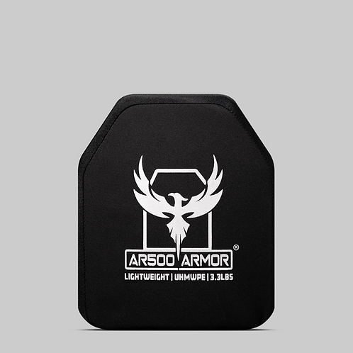 "AR500 Armor® Level III Lightweight UHMWPE Body Armor 10"" x 12"""
