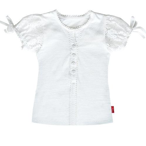 Mogo Kurzarm-Shirt Zuckerhütl weiß