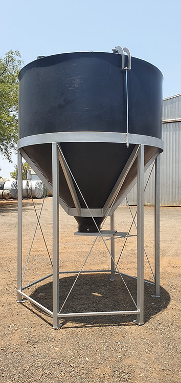 Model 2700 Silo with 51 Degree Cone