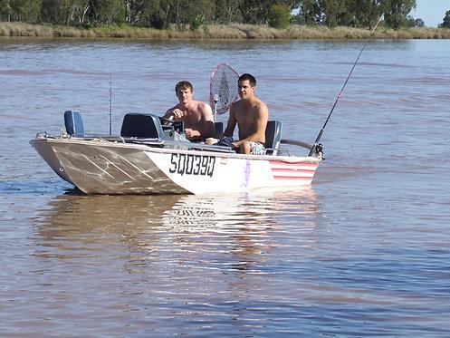"Saxon - 12"" Boat"