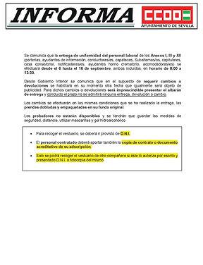 26082021 ENTREGA DE VESTUARIO A PERSONAL