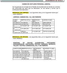 CAMBIOS VESTUARIO PERSONAL LABORAL 2020.