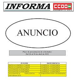 2021-04-26 AVISO BOLSA CONTRATOS RELEVOS
