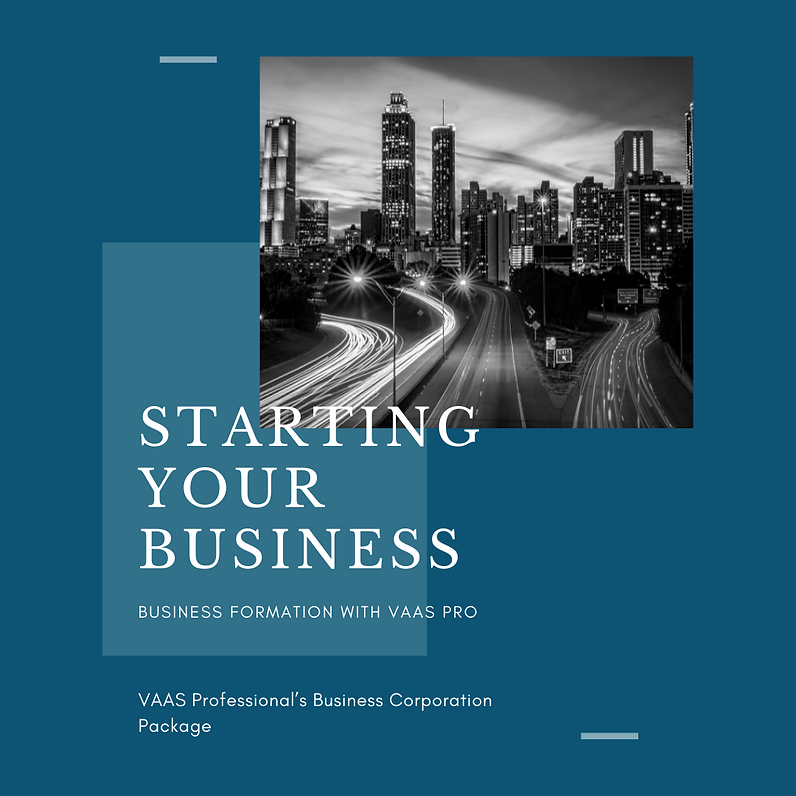Starting Your Business with VAAS Pro