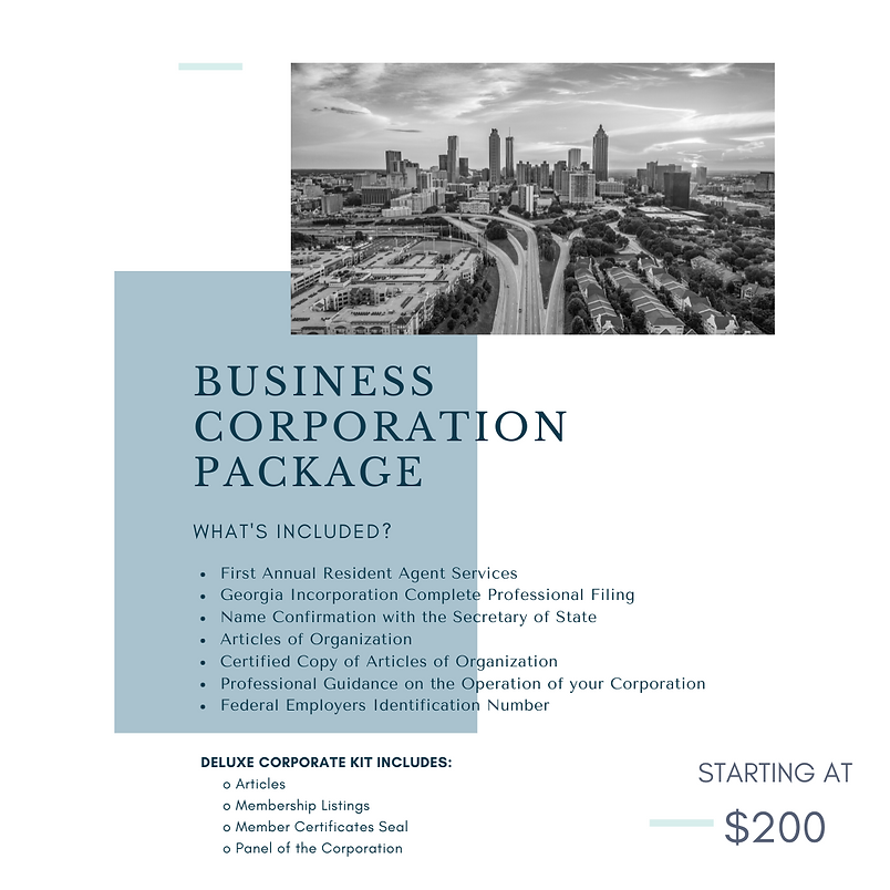 Business Formation Package