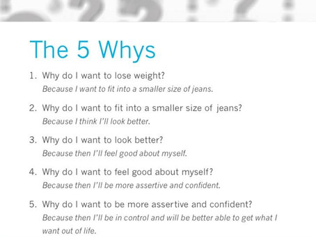 "What is Your ""WHY""?"