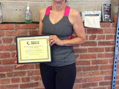 Jeanette - June Member Of The Month!