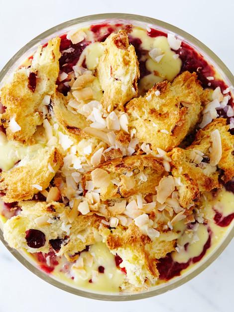 Panettone Coconut Raspeberry Trifle Jam