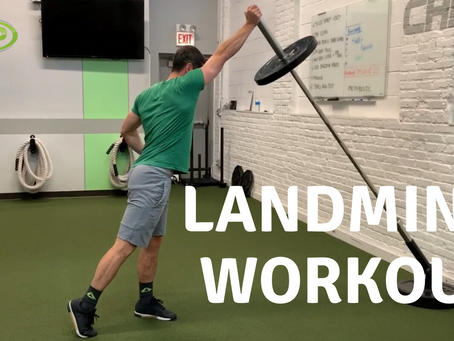 Landmine Total Body Workout