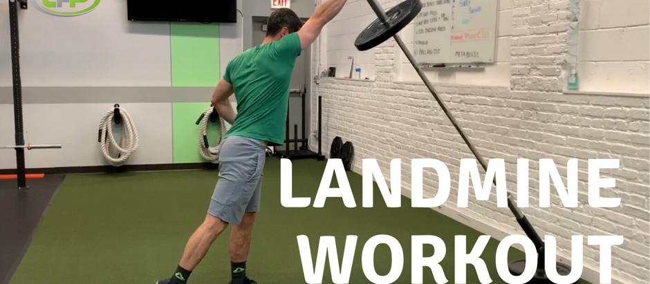Landmine Total Body Workout