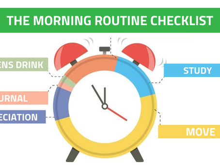 The Morning Routine Checklist ☑