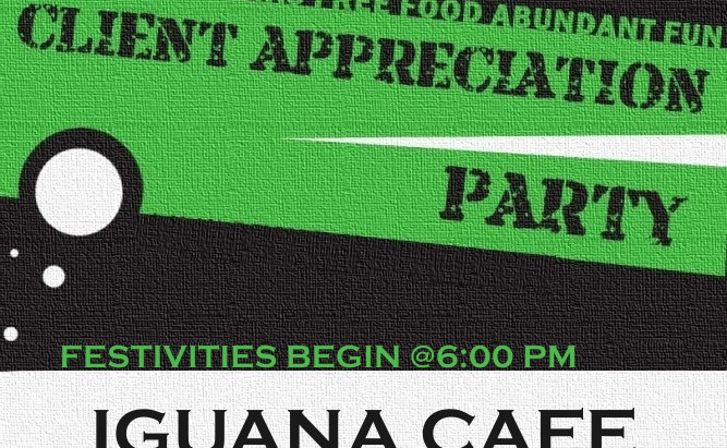 Client Appreciation Party - Yes A Party Just For You!