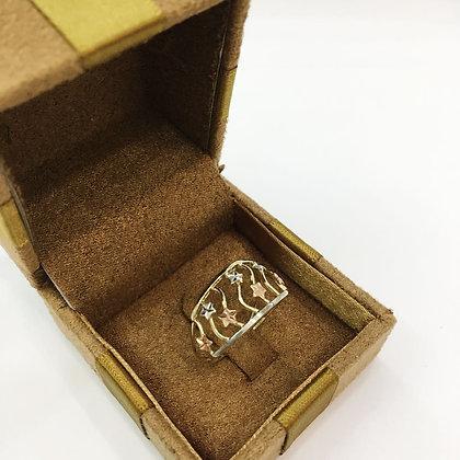 Anel de ouro 10k lp0003