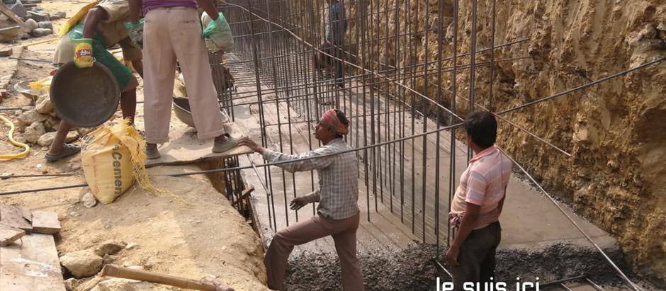 Le chantier de Kalimpong avance
